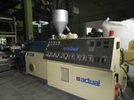 Wytłaczarka dwuślimakowa firmy Actual 2T9/ 4,5-22-P do PCV