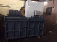 Prasa belownica kompaktor zgniatarka do śmieci odpadów foli makulatury