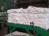 HDPE natural and white nonwoven
