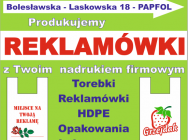 Odpady poprodukcyjne, belki po 50 kg HDPE folia