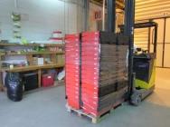 Pojemniki plastikowe do przeprowadzek i przechowywania - wynajem