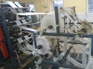 Automat do produkcji woreczków ze zgrzewem dolnym