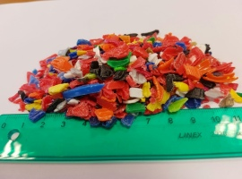Offering HDPE grinded…