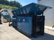 Rozdrabniacz wstępny Hammel VB750E- 15 ton/h