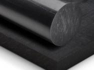 Wałek z czarnego poliamidu Tecast T black