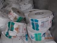 LDPE folia na rolkach pampers