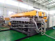 PP corrugated sheet extrusion machine