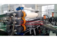 PP PE PS HIPS ABS sheet extrusion machine