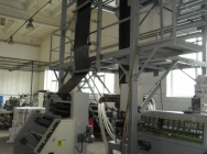 Wytłaczarka do produkcji folii LDPE firmy Kuhne