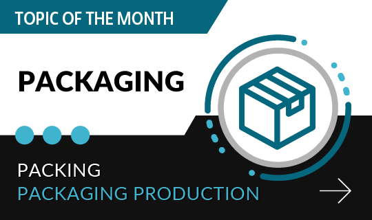 Topic of the month: Packagings