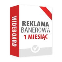 Reklama banerowa: Wideboard na 1 m-c