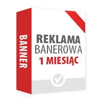 Reklama banerowa: Banner #2 - 1 m-c