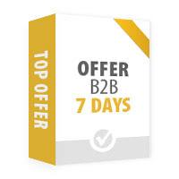 Top B2B Offer - 1 week