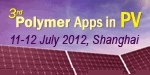 Polymers Apps in PV 2012