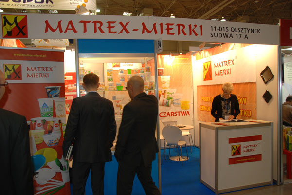 Matrex-Mierki na targach Pakfood 2013