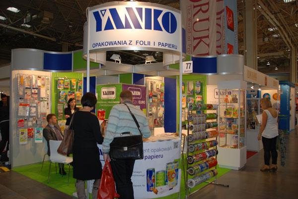Yanko na targach Pakfood 2013