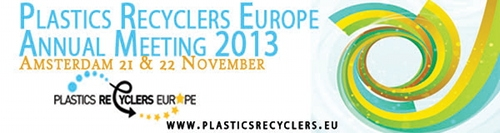 Plastics Recyclers Europe Annual Meeting 2013