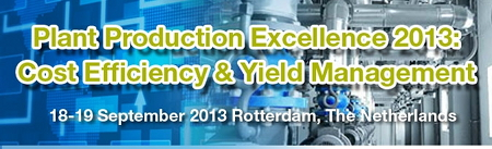 Plant Production Excellence 2013