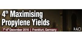 Maximising Propylene Yields 2016