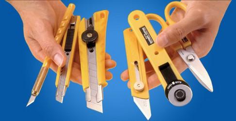 Noże i ostrza Olfa
