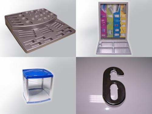 Termoformowanie, obróbka CNC, zaginanie, klejenie tworzyw: ABS, PCV, PCV-S, PE, PMMA (Pleksi), PET, PS, HIPS, PC