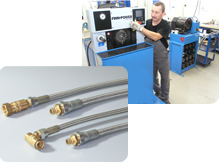 PRODUCTION OF INDUSTRIAL HOSE ASSEMBLIES