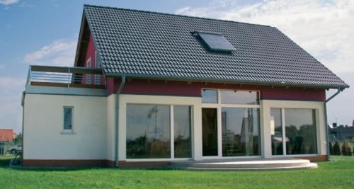dom pasywny w Smolcu pod Wrocławiem