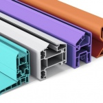 New rigid PVC for outdoor profiles
