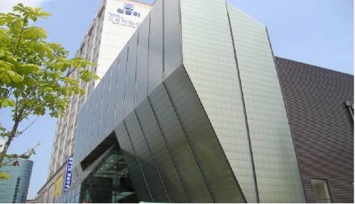 Apartamentowiec zbudowany przez Taeyoung Construction Company