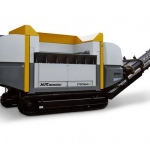World's first electrically-driven mobile shredder