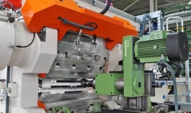 Mobile milling service for Multiplex extrusion heads