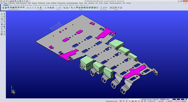 projektowanie tłocznika wielotaktowego