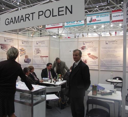 Firma Gamart na targach K2007
