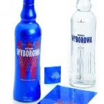 Galeria opakowań-nowa butelka dla Wódki Wyborowej