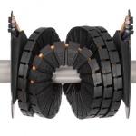 Bęben kablowy dla prowadników przewodów zmniejsza emisję hałasu