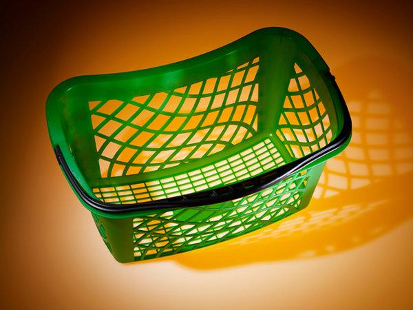 koszyk z tworzywa