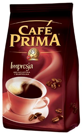 Nowe opakowanie kawy Prima Impresja