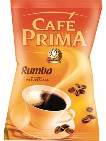 Nowe opakowanie kawy Prima Rumba