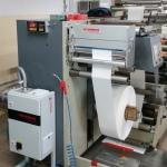Maszyna do druku fleksograficznego wzbogacona o urządzenie Vetaphone