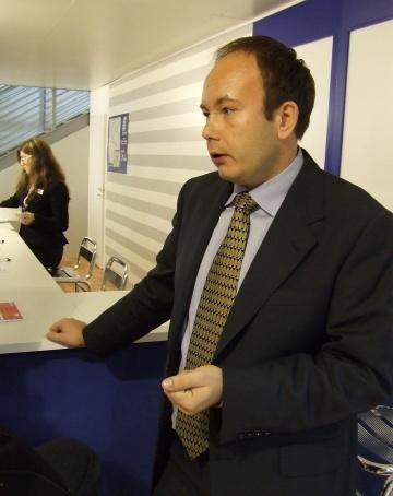 Mateusz Radzki z firmy ANA BH