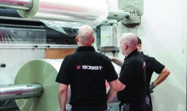 Bobst collaborates with Michelman