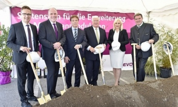 Evonik breaks ground for expansion of its membrane production in Austria