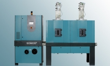 New energy-efficient mobile and stationary SOMOS resin dryers
