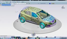 Inżynierowie Renault pracują na platformie 3DEXPERIENCE firmy Dassault Systèmes