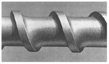 Zmiany powierzchni ślimaka wskutek działania ścierania