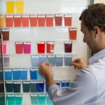 New trend colors for textiles and fibers