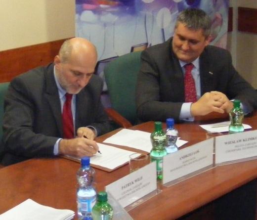 Podpisanie umowy w sprawie finansowania ChemiParku Technologicznego w Brzegu Dolnym