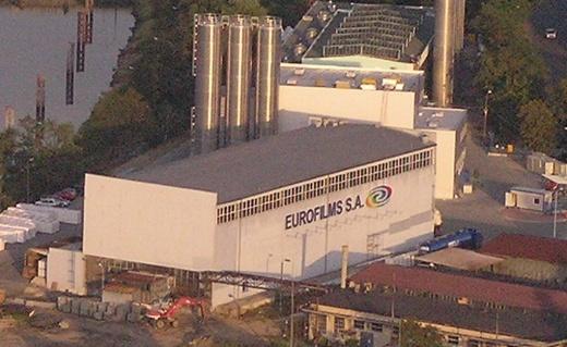 siedziba firmy Ergis - Eurofilms w Oławie
