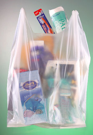 produkty zapakowane w torebkę foliową