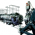 FDC pipe extrusion line delivers ultimate flexibility in diameters and wall thicknesses